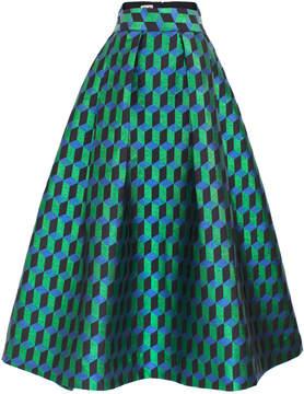 Baum und Pferdgarten Sharon A-Line Geometric Print Skirt