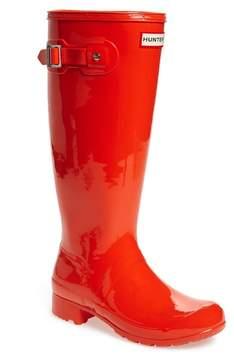 Hunter Tour Gloss Packable Rain Boot