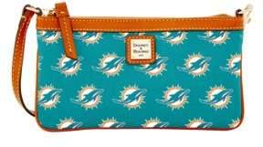 Dooney & Bourke Miami Dolphins Slim Wristlet