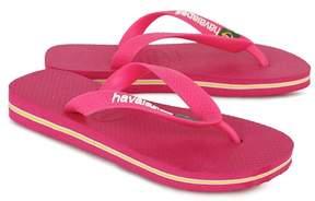 Havaianas Pink Brasil Flip Flops