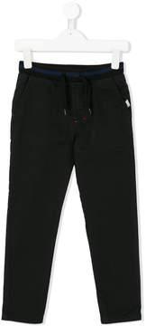 Karl Lagerfeld logo tab track pants