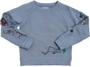 Zadig & Voltaire Skeleton Circus Cotton Sweatshirt