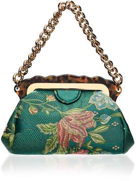 Edie Parker Aliza Silk Brocade Bag