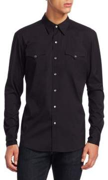 Ralph Lauren Purple Label Aspen Western Casual Button-Down Shirt