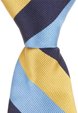 Class Club Gold Label 14 Color Block Tie