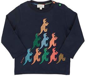 Paul Smith Infants' Dinosaur Pyramid Cotton T-Shirt