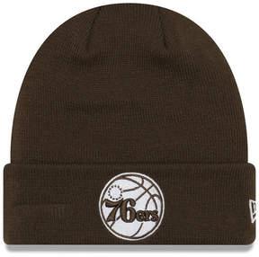 New Era Philadelphia 76ers Fall Time Cuff Knit Hat