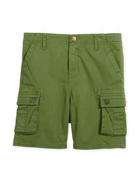 Appaman Mesa Cotton-Stretch Cargo Shorts, Size 2-10
