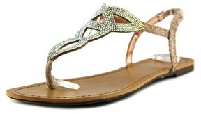 Material Girl Swirlz Women Open Toe Synthetic Thong Sandal.