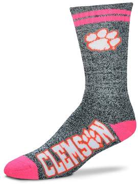 For Bare Feet Adult Clemson Tigers Crew Socks