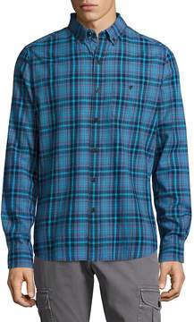 Michael Bastian Men's Plaid Button-Down Shirt