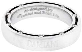 Damiani D.Side 18K White Gold Diamond Eternity Ring