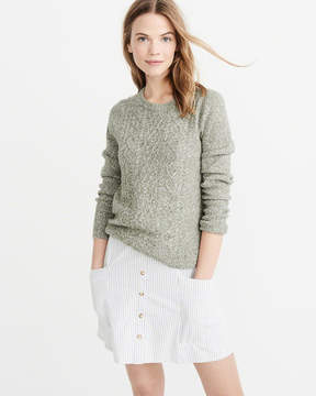 Abercrombie & Fitch Cashmere-Linen Blend Sweater