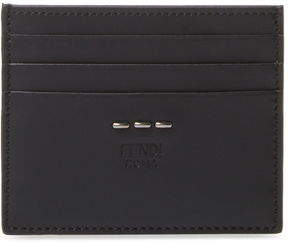 Fendi Men's Leather Card Case