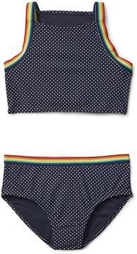 Gap Rainbow Dot Swim Two-Piece