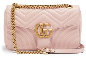 Gucci Gg Marmont Small Quilted Leather Shoulder Bag - Womens - Light Pink