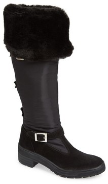 Pajar Women's Norah Waterproof Boot With Faux Fur Cuff