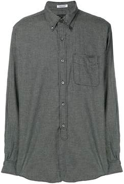 Engineered Garments micro houndstooth check shirt