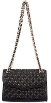 Rebecca Minkoff Quilted Leather Embellished Crossbody Bag