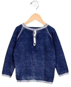 Bonpoint Boys' Knit Crew Neck Shirt