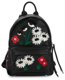 Flirt Daisy Embroidered Backpack