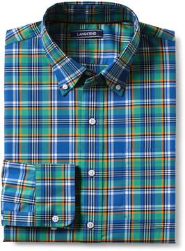 Lands' End Lands'end Men's Tall Traditional Fit No Iron Twill Shirt