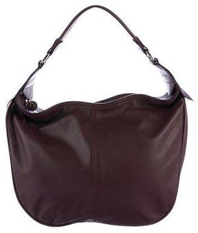 Hogan Walnut Leather Handle Bag