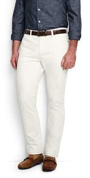 Lands' End Lands'end Men's Ring Spun Slim Fit Jeans