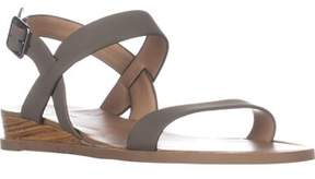 Call it SPRING Richichi Ankle Strap Wedge Sandals, Taupe.