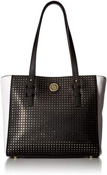 Anne Klein Graphic Island Medium Tote