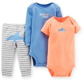 Carter's Baby Clothing Outfit Boys' 3 Piece Pants Set- Shark - Newborn