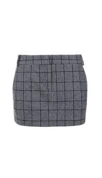 Tibi Aldridge Tweed Mini Skirt