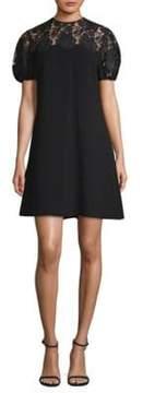 Shoshanna Floral Lace Shift Dress