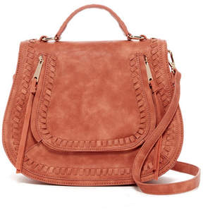 Urban Expressions Chile Vegan Leather Saddle Bag