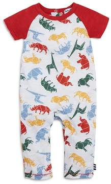 Splendid Boys' Origami Animal Print Romper - Baby