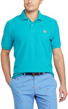 Chaps Big & Tall Solid Pique Polo