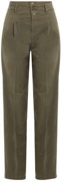 Closed Stretch Cotton High-Waisted Chinos