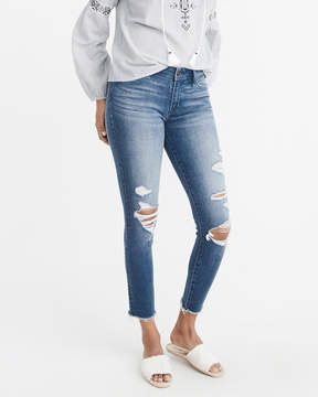 Abercrombie & Fitch Low-Rise Ankle Jeans