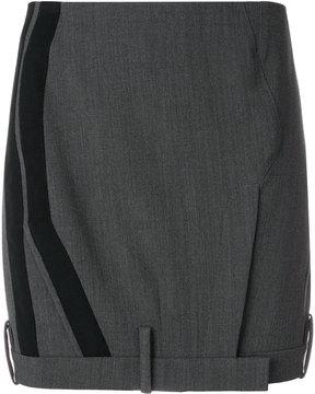 A.F.Vandevorst tailored mini skirt