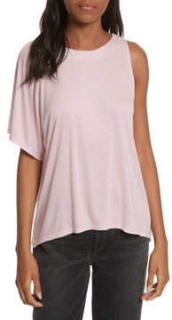 Twenty Women's Willow Shine Jersey One-Shoulder Top