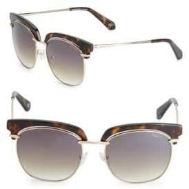 Balmain 54MM Clubmaster Sunglasses