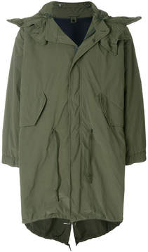Aspesi hooded military coat