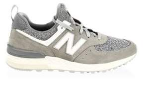 New Balance Lace-Up Low Top Trainers