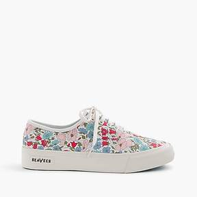 J.Crew Seavees® for Legend sneakers in Liberty poppy & daisy floral