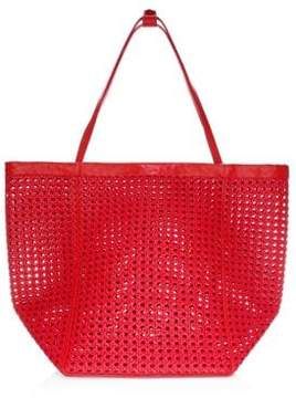 Elizabeth and James Teller Woven Mesh Tote