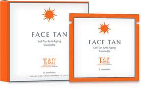 TanTowel Tan Towel Face Tan Self-Tan Anti-Aging Towelette