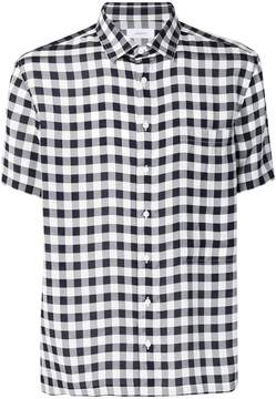 Joseph checked shortsleeved shirt