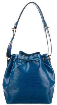 Louis Vuitton Epi Petit Noé - BLUE - STYLE