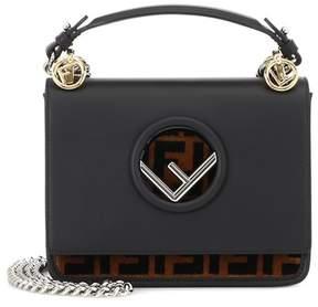 Fendi Kan I F Small leather shoulder bag
