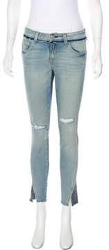 Amo Rise & Shine Mid-Rise Skinny Jeans